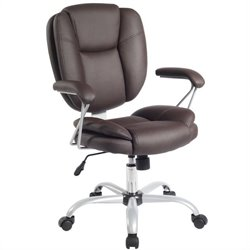 Ergonomic Task Office Chair in Chocolate