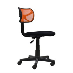 Mesh Task Office Chair in Orange