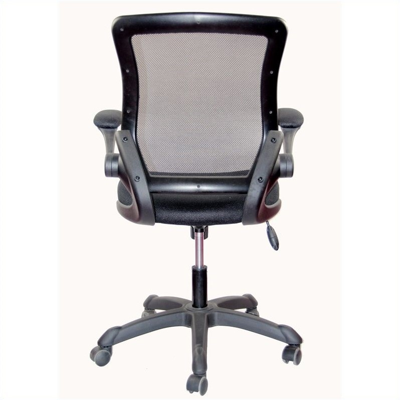 Techni Mobili Mesh Task Office Chair in Black
