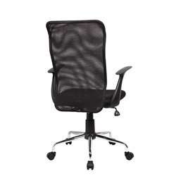 Medium Back Mesh Assistant Chair in Black