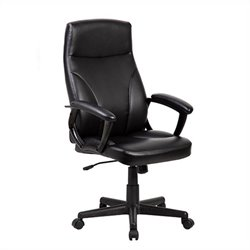 Medium Back Manager Office Chair in Black