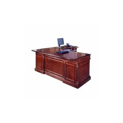 DMi Keswick Right Executive 72 in. Width L-Desk