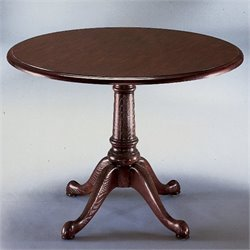 DMi Governors Round 3.5' Conference Table in Mahogany