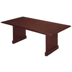 DMi Furniture Governors Rectangular 6' Conference Table in Mahogany