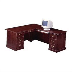 DMi Andover Executive 72 in. L-Desk