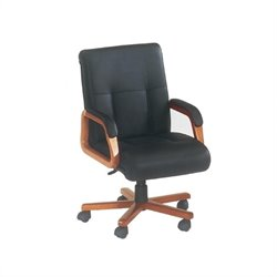 DMi Belmont Executive Leather Mid Back Office Chair