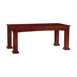 DMi Del Mar Wood Writing Desk in Sedona Cherry