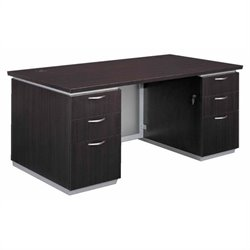 DMi Pimlico Laminate Executive 72 in. Desk (Flat Pack)