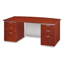 DMi Pimlico Laminate Executive 66 in. Desk (Flat Pack)
