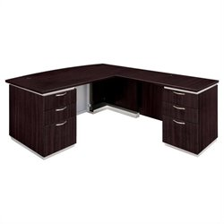 DMi Furniture Pimlico L-Shaped Executive Desk (Assembled)