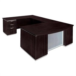 DMi Furniture Pimlico U-Shaped Executive Desk (Flat Pack)