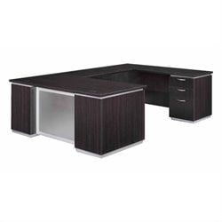 DMi Pimlico Laminate Executive Right U-Shaped Desk (Assembled)