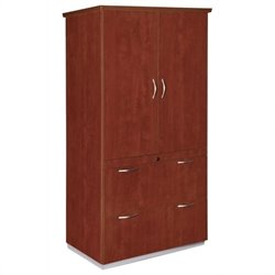 DMi Pimlico Laminate 2 Drawer Wood Lateral File Storage Cabinet