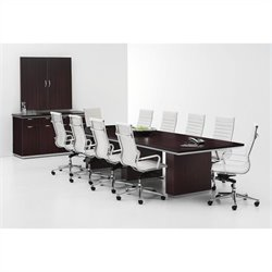 DMi Furniture Pimlico Laminate 10' Boat Shaped Conference Table