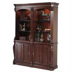 DMi Balmoor Double Bookcase with Cabinets