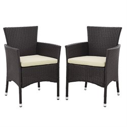 angelo HOME Rattan Patio Dining Chair