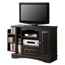 Walker Edison 42 Inch Bedroom TV Console with Media Storage