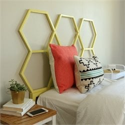 Headboard in Yellow
