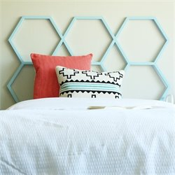 Headboard in Blue