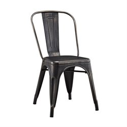 Walker Edison Metal Cafe Chair