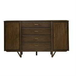 Stanley Furniture Santa Clara Buffet in Burnished Walnut