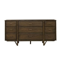 Stanley Furniture Santa Clara Dresser in Burnished Walnut