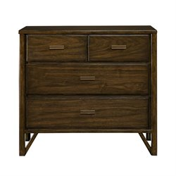 Stanley Furniture Santa Clara Bachelor's Chest in Burnished Walnut