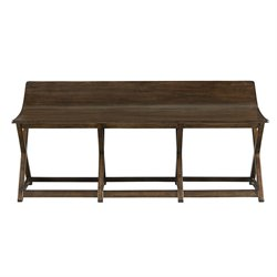 Stanley Furniture Santa Clara Bed End Bench in Burnished Walnut