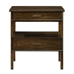Stanley Furniture Santa Clara Nightstand in Burnished Walnut