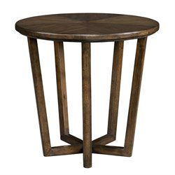 Stanley Furniture Santa Clara Lamp Table in Burnished Walnut