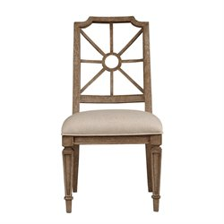 Stanley Furniture Wethersfield Estate Side Chair in Brimfield Oak