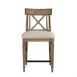 Stanley Furniture Wethersfield Estate Counter Stool in Brimfield Oak