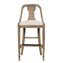 Stanley Furniture Wethersfield Estate Bar Stool in Brimfield Oak