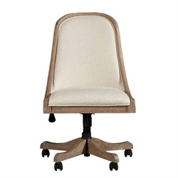 Stanley Furniture Wethersfield Estate Desk Chair in Brimfield Oak