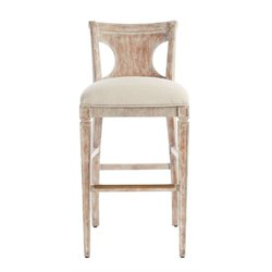 Juniper Dell Barstool in English Clay