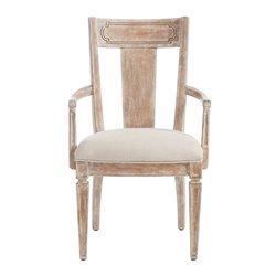 Juniper Dell Contemporary Arm Chair in English Clay