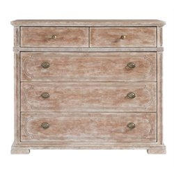 Juniper Dell Media Chest in English Clay