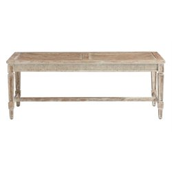 Juniper Dell Bed End Bench in English Clay