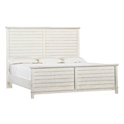 Coastal Living Resort Cape Comber Platform Bed King in Nautical White