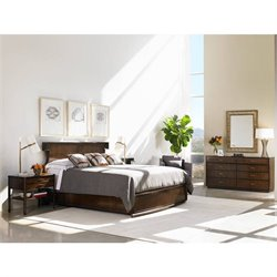 Stanley Furniture Crestaire 4 Piece California King Southridge Bedroom Set