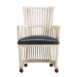 Stanley Furniture Archipelago Bonaire Club Dining Chair in Blanquilla