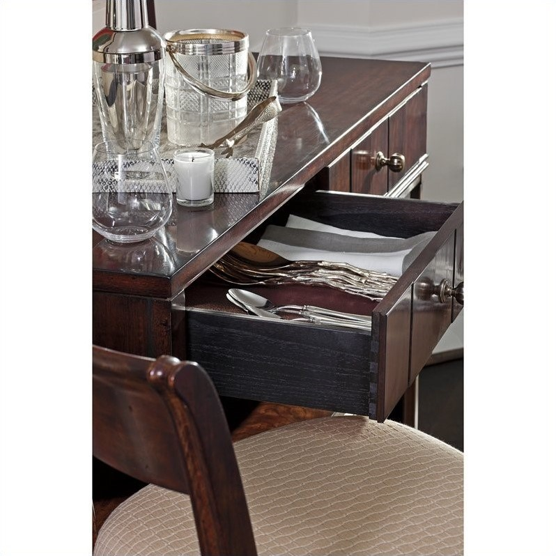 Stanley Furniture Avalon Heights Empire Serving Console in Chelsea