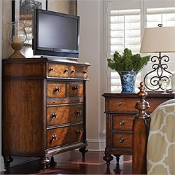 Stanley Furniture British Colonial Media Chest in Caribe