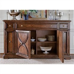 Stanley Furniture Arrondissement Grand Rue Buffet in Heirloom Cherry