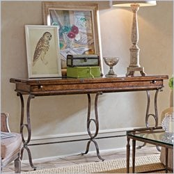 Stanley Furniture Arrondissement Villette Flip Top Console Table in Heirloom Cherry