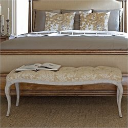 Stanley Arrondissement Chaise Banquette Bench in Vintage Neutral
