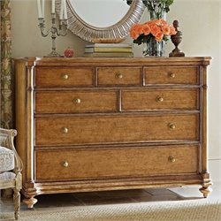Stanley Furniture Arrondissement Belle Mode Dresser in Sunlight Anigre