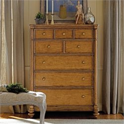Stanley Arrondissement Belle Mode Drawer Chest in Sunlight Anigre