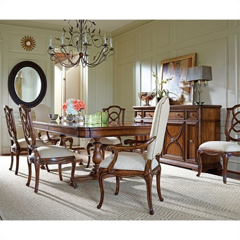 Stanley Dining Room Furniture: Stanley Arrondissement Famille Pedestal Dining Table