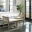 Stanley Coastal Living Resort Surfside Bed End Bench in Sandy Linen